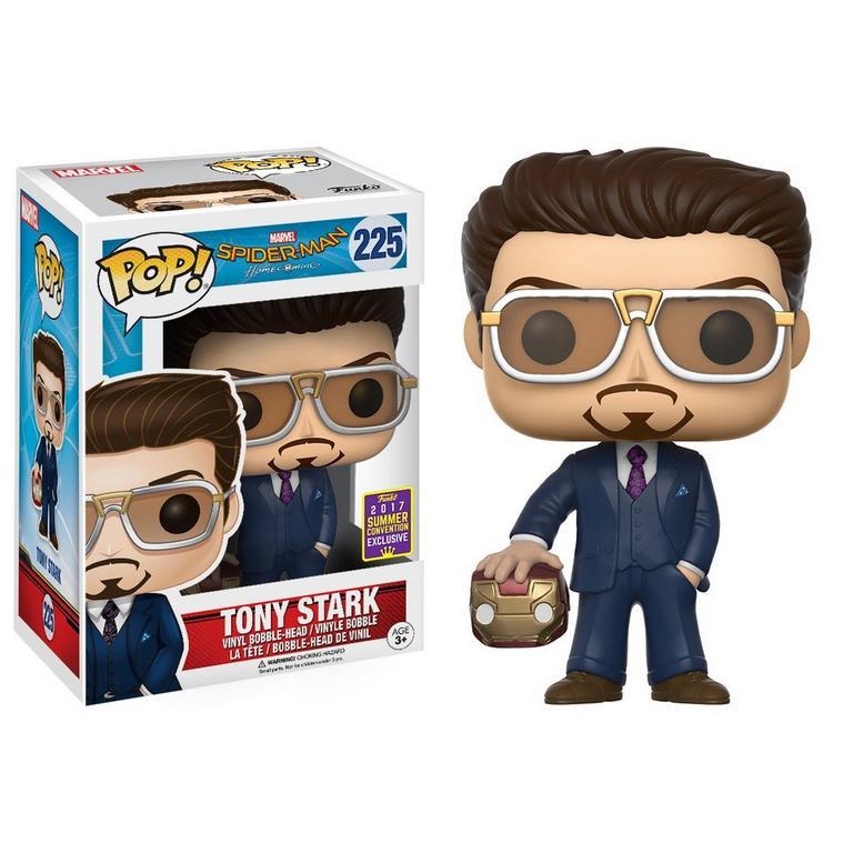 POP! Marvel: Spider-Man Homecoming - Tony Stark with Helmet - SDCC 2017 Exclusive