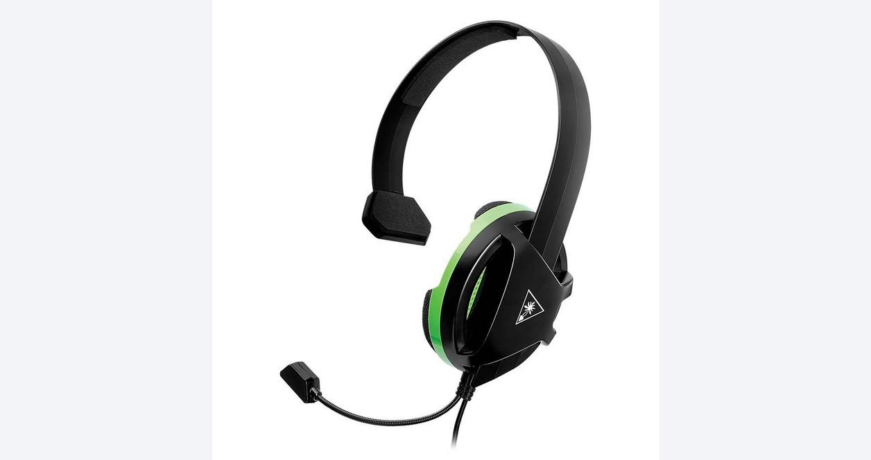 Xbox One Recon Black Wired Chat Gaming Headset