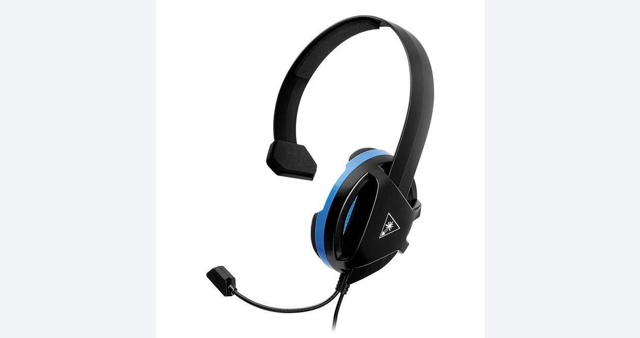 Recon White Wired Chat Gaming Headset for PlayStation 4