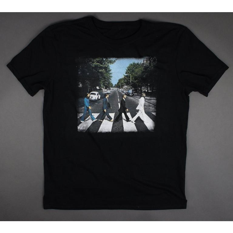 The Beatles Abbey Road Black Mens T-Shirt