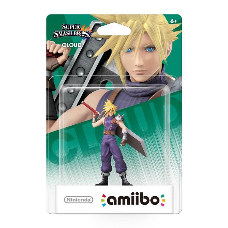 Super Smash Bros. Cloud amiibo Figure