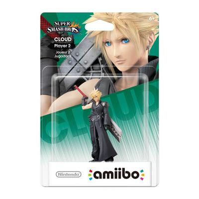 Cloud (Player 2) amiibo Figure - Only at GameStop