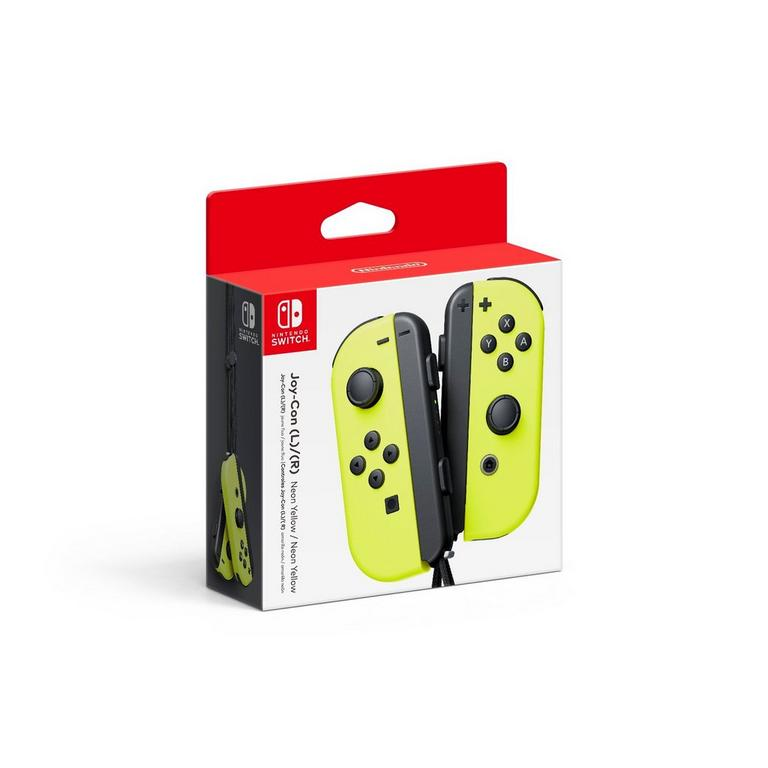 Nintendo Switch Joy-Con (L)/(R) Neon Yellow
