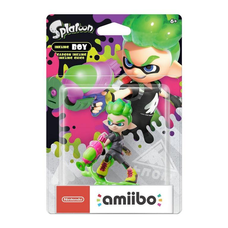 Inkling Boy (Neon Green) Splatoon 2 amiibo Figure
