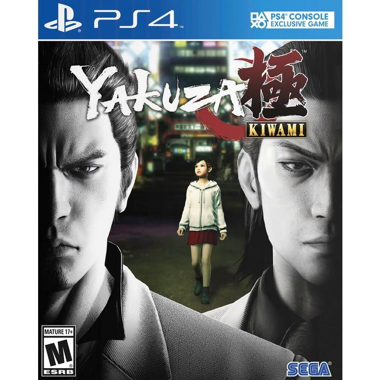 Sega of America Yakuza Kiwami PS4 Available At GameStop Now!