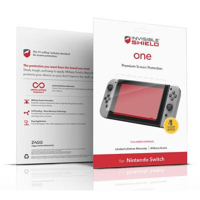 Nintendo Switch ZAGG Invisible Shield One Screen Protector