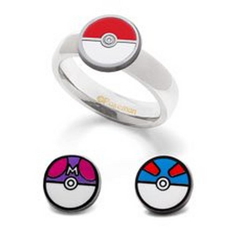 Poke Ball Interchangeable Ring
