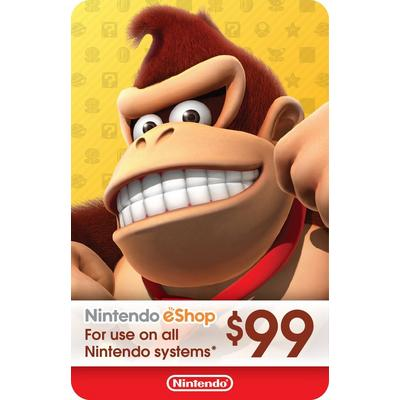 Nintendo eShop Digital Card $99