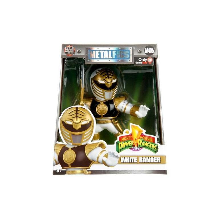 Metal Figures: White Power Ranger - Only at GameStop