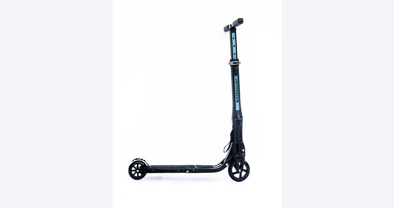 Edrenaline Foldable Scooter with Black Carry Bag