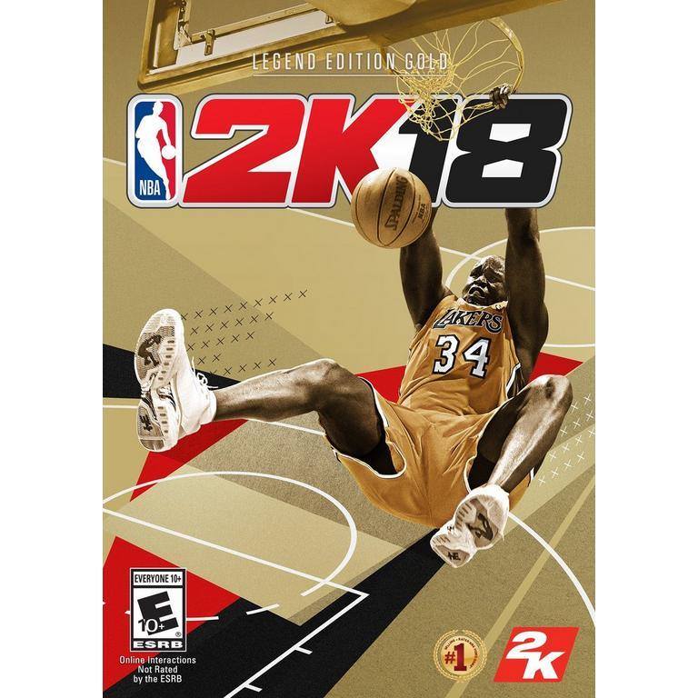 NBA 2K18 Legend Gold Edition