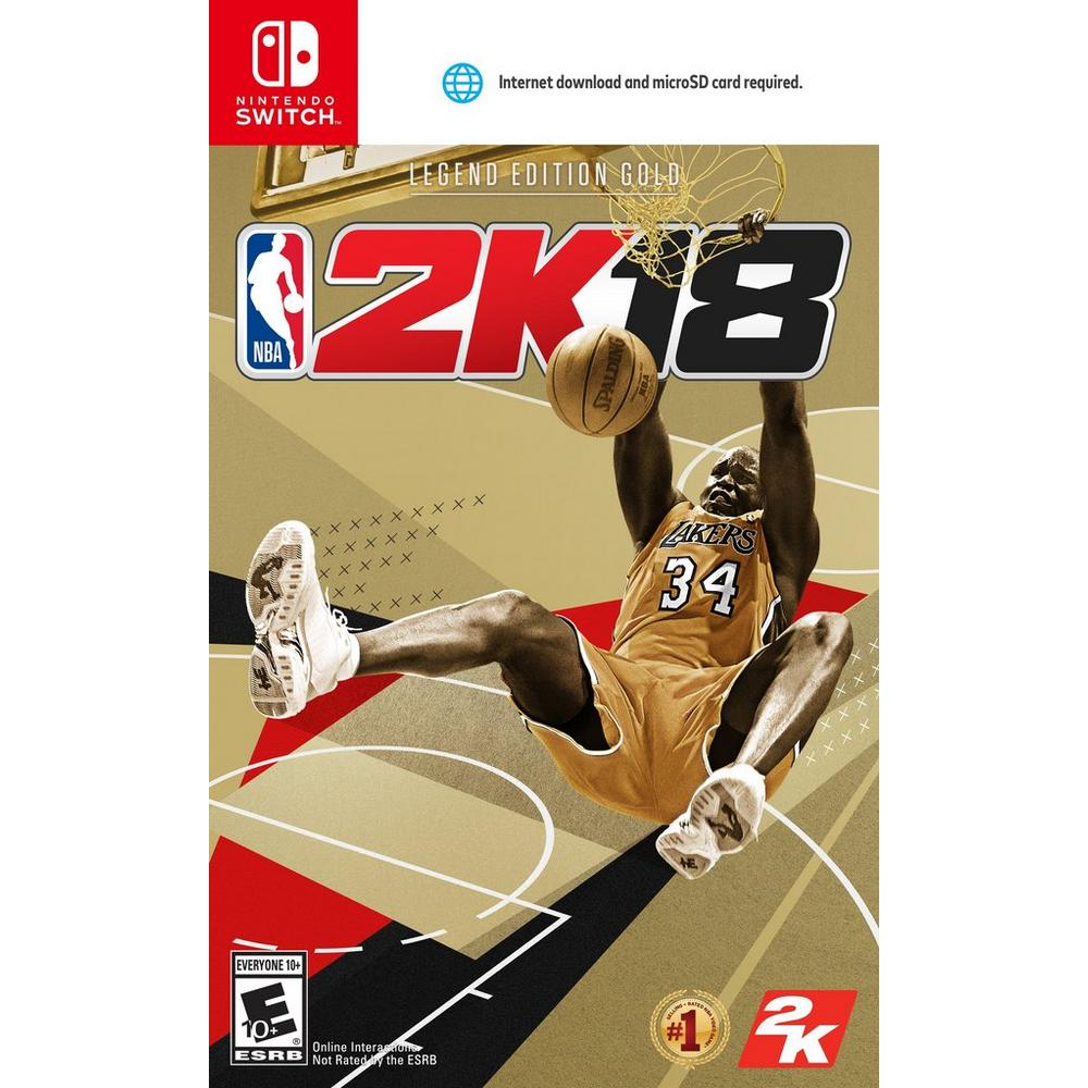 NBA 2K18 Legend Edition Gold - Only at GameStop | Nintendo Switch | GameStop