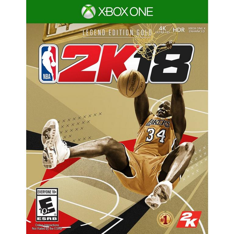 NBA 2K18 Legend Edition Gold Only at GameStop