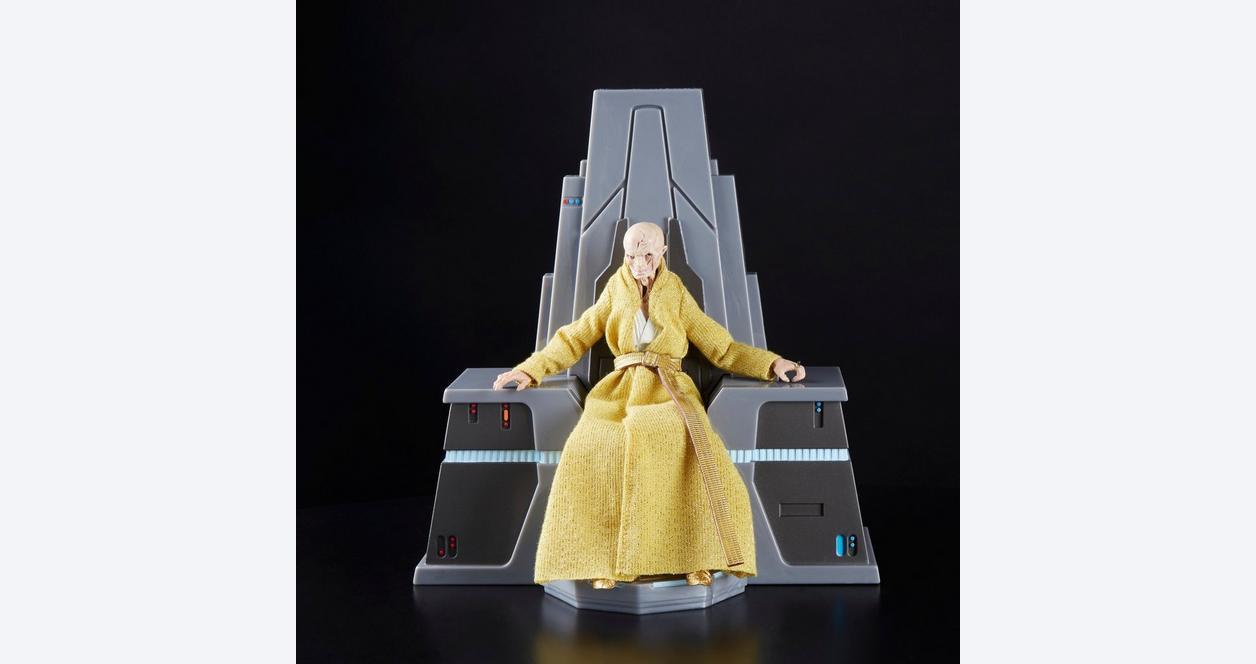 Star Wars: The Black Series The Last Jedi Supreme Leader Snoke Throne Room Only at GameStop
