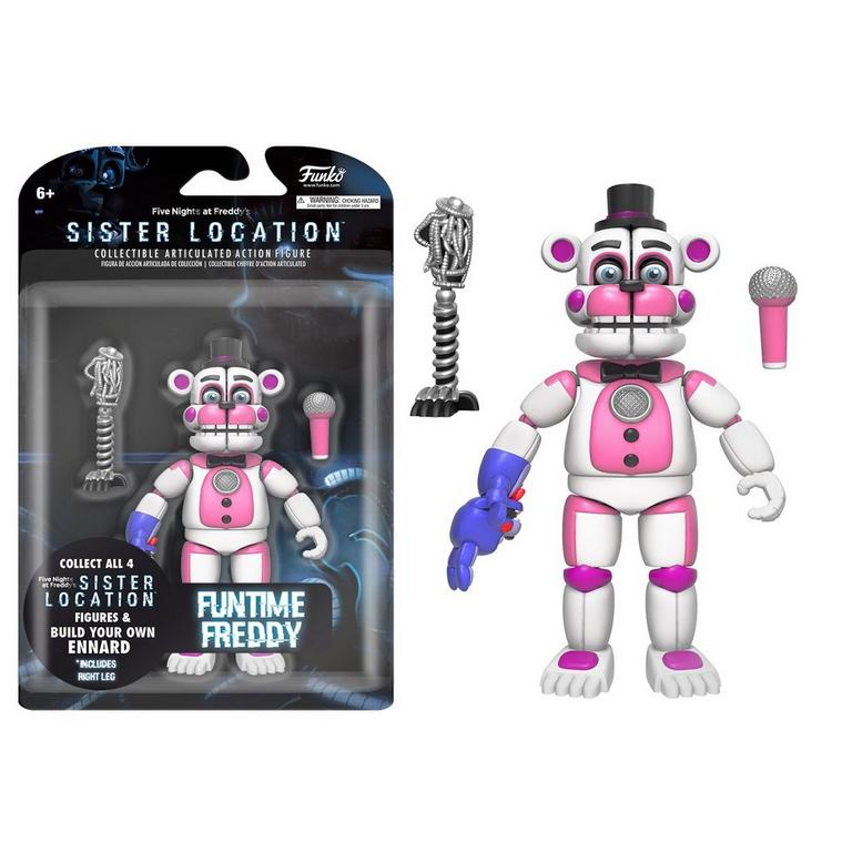 Five Nights at Freddy's Sister Location 5 inch Figure - Funtime Freddy