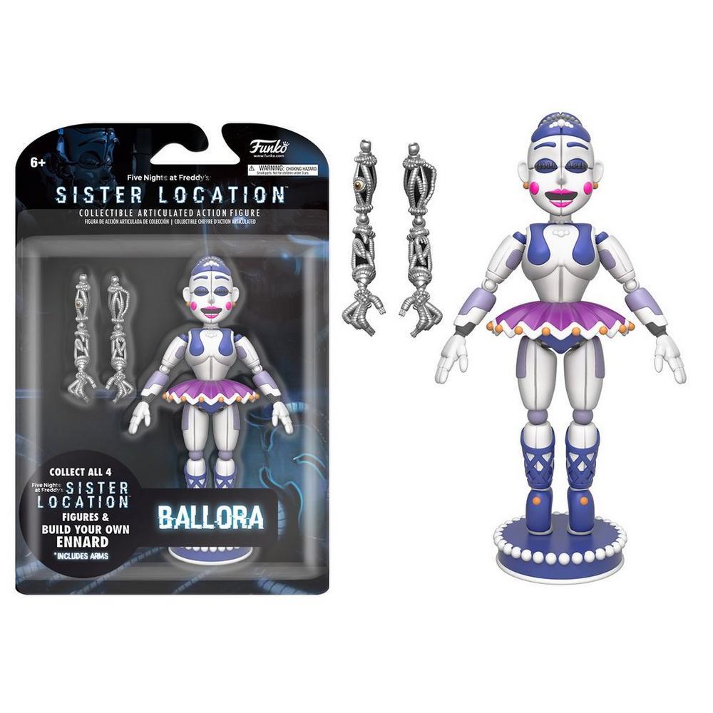 Five Nights at Freddy's Sister Location 5 inch Figure - Ballora | GameStop