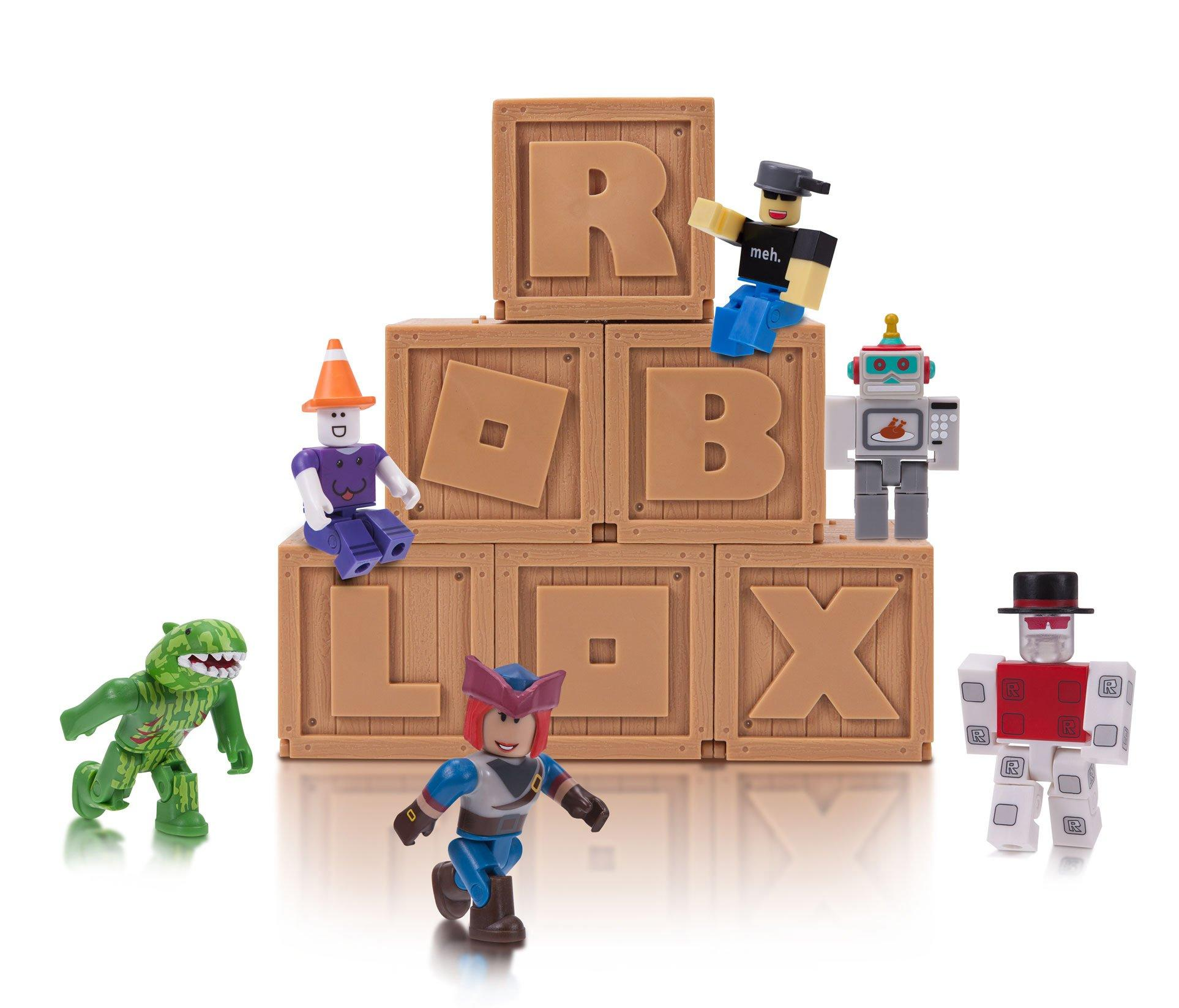 Roblox Figure Pack Assortment Gamestop Roblox Series 2 Blind Box Figure Gamestop