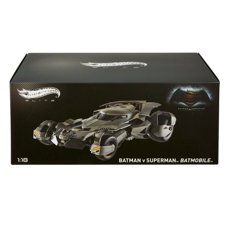Hot Wheels Batman vs. Superman Batmobile Vehicle Replica