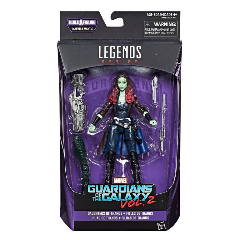 Marvel Legends Series: Guardians of the Galaxy Vol. 2 - Gamora 6 inch Figure