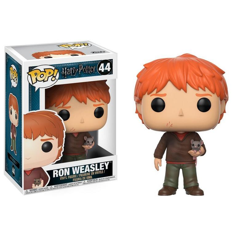 POP! Harry Potter: Ron Weasley with Scabbers