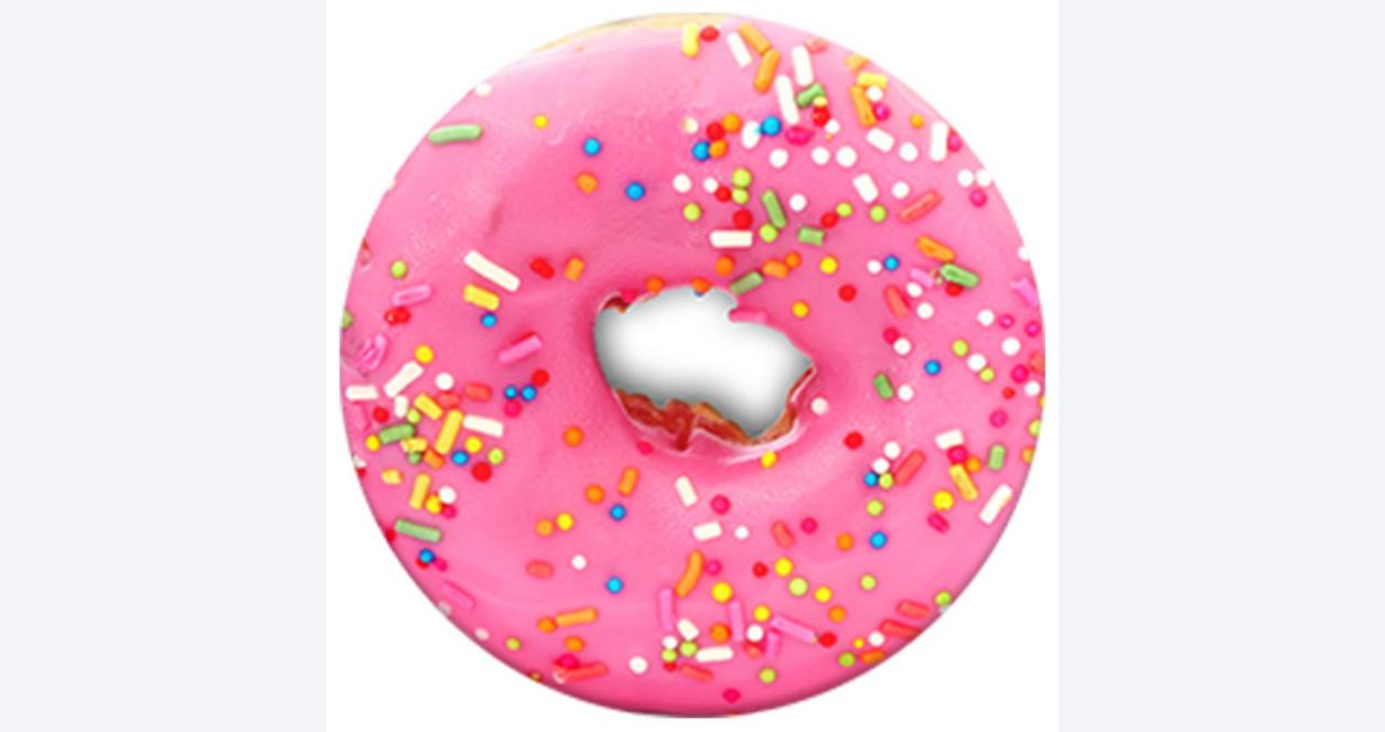 PopSocket Pink Donut Phone Grip and Stand