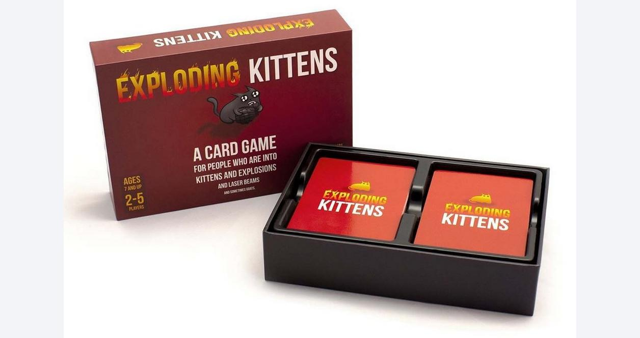 Exploding Kittens: Original Edition Card Game