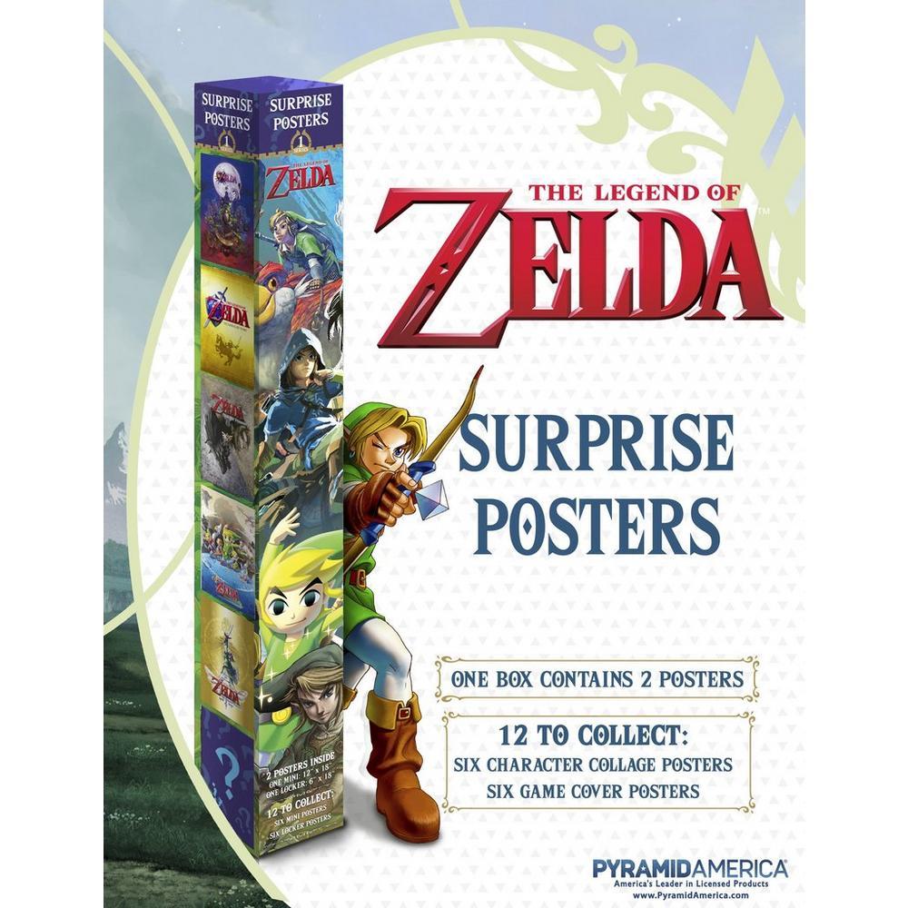 Legend of Zelda: Blind Posters   GameStop