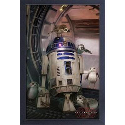 Star Wars: The Last Jedi R2-D2 Canvas