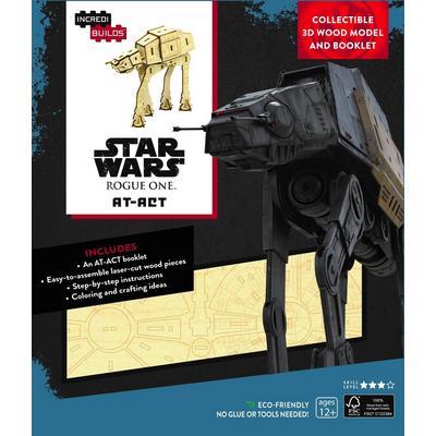 Incredibuilds Star Wars - AT-ACT 3D Wood Model