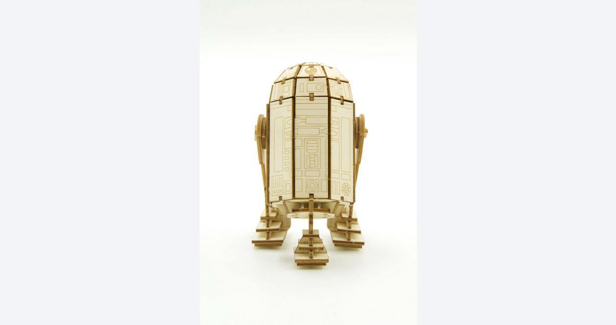 Incredibuilds Star Wars - R2-D2 3D Wood Model