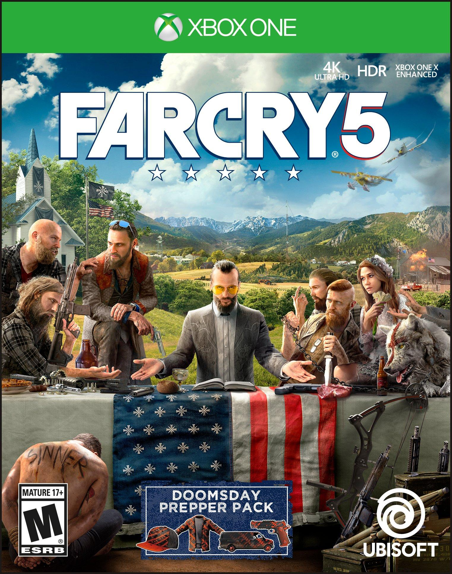far cry 5 what they carried xbox one