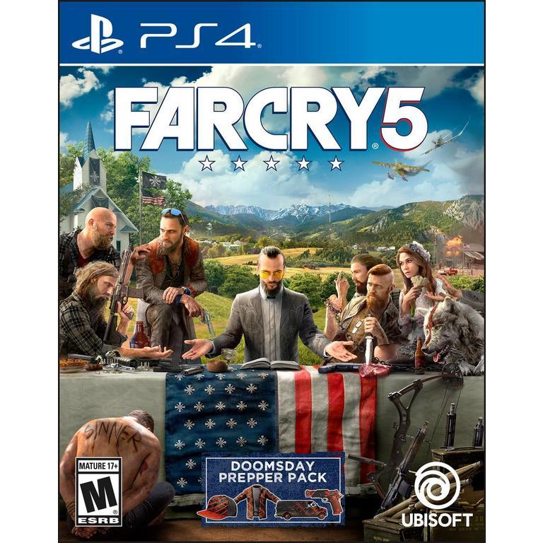 Far Cry 5 Playstation 4 Gamestop
