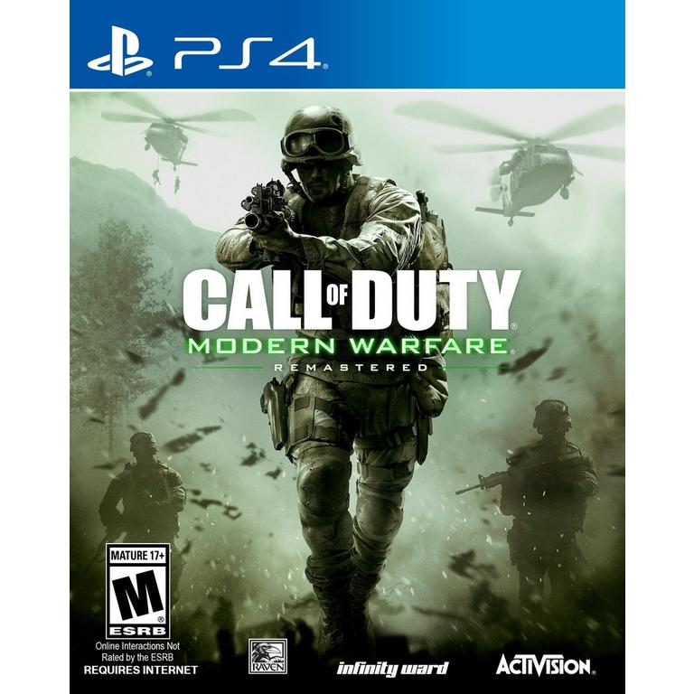 Call of Duty: Modern Warfare Remastered | PlayStation 4 | GameStop