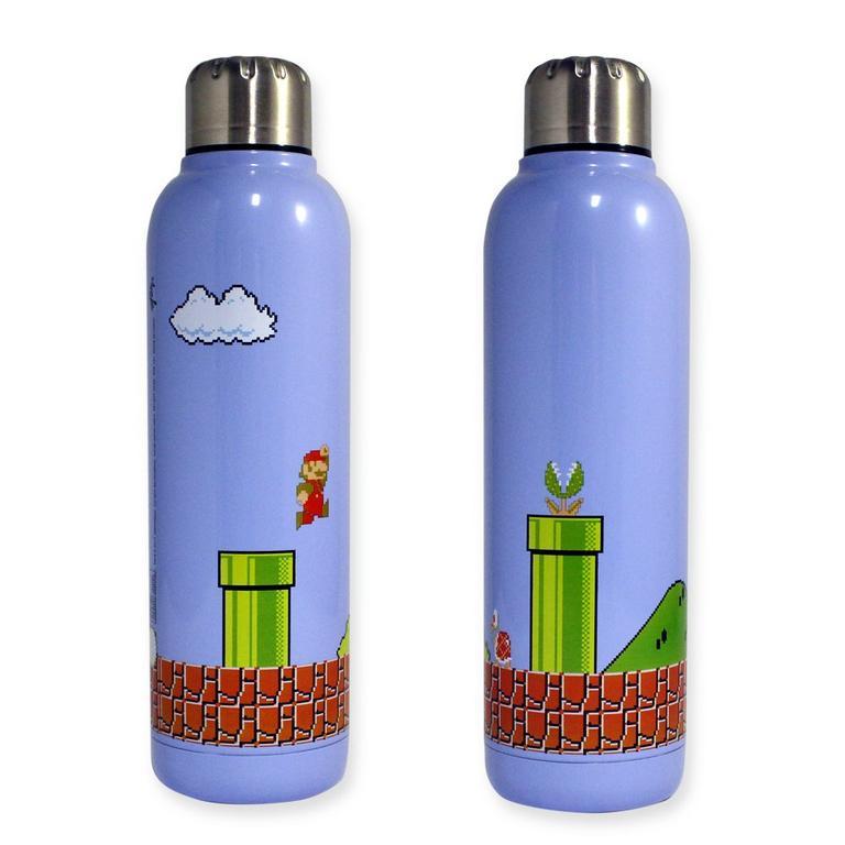 Super Mario Bros. Stainless Steel Water Bottle