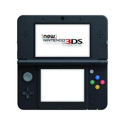 Nintendo New 3DS System - Super Mario Black (ReCharged Refurbished)
