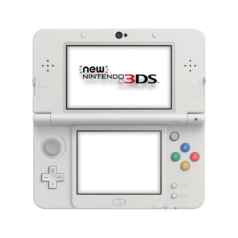 New Nintendo 3DS Super Mario White