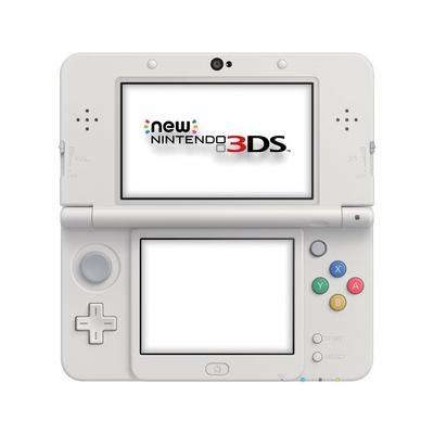 Nintendo New 3DS System - Super Mario White (ReCharge Refurbished)