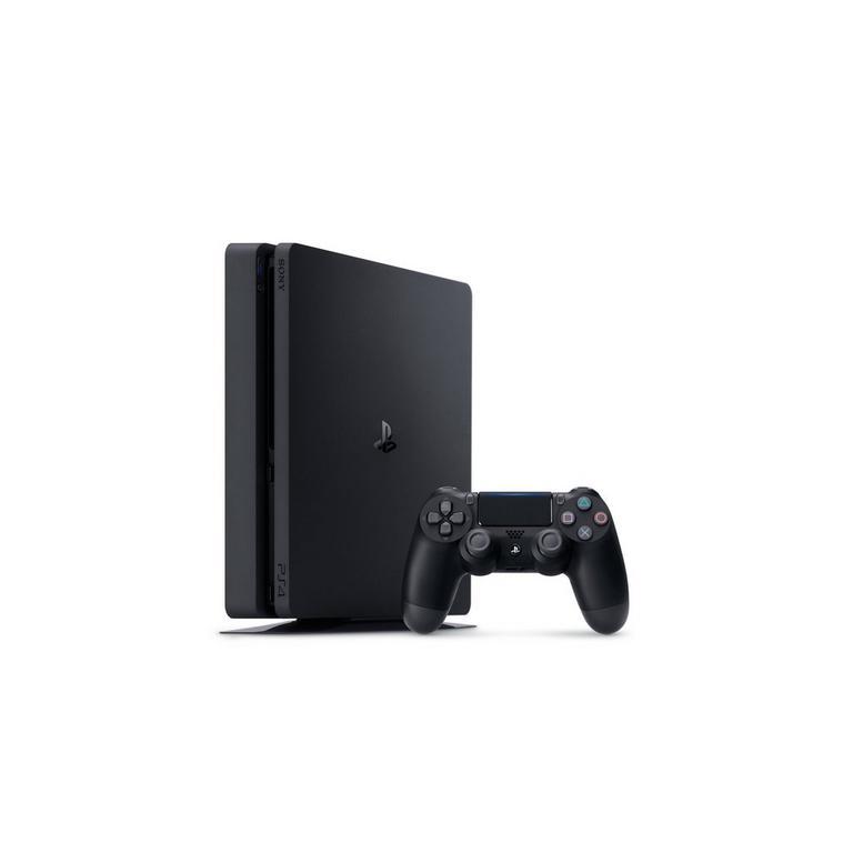 PlayStation 4 1TB Slim System - Black (GameStop Premium Refurbished)