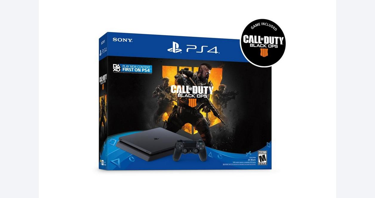 PlayStation 4 Slim Call of Duty: Black Ops 4 Bundle 1TB