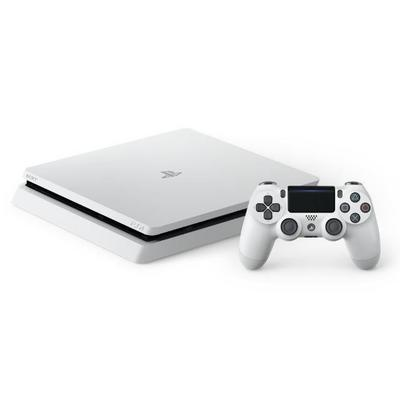 PlayStation 4 500GB Slim System - White (GameStop Premium Refurbished)