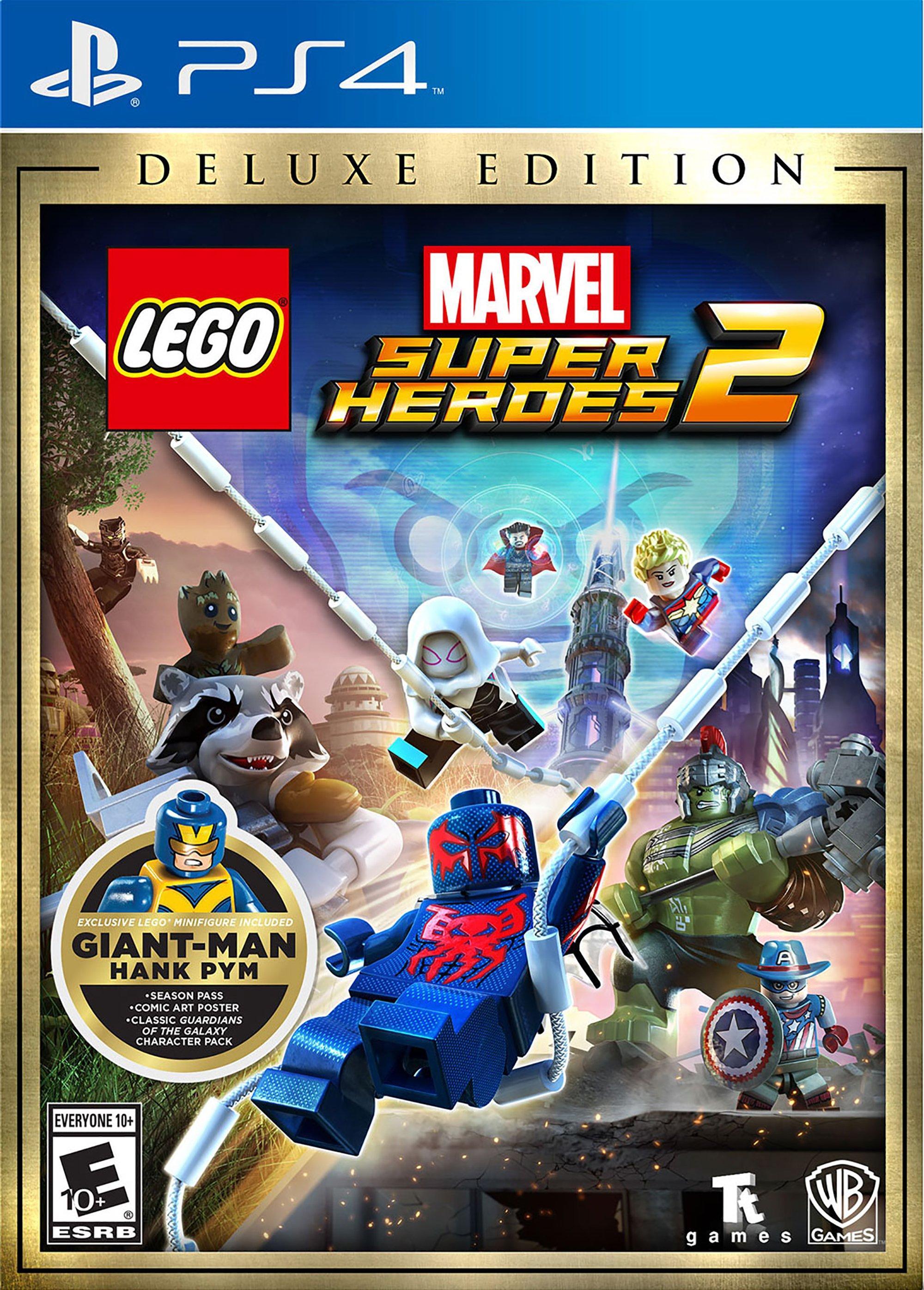 LEGO Marvel Super Heroes 2 Deluxe Edition | PlayStation 4 | GameStop