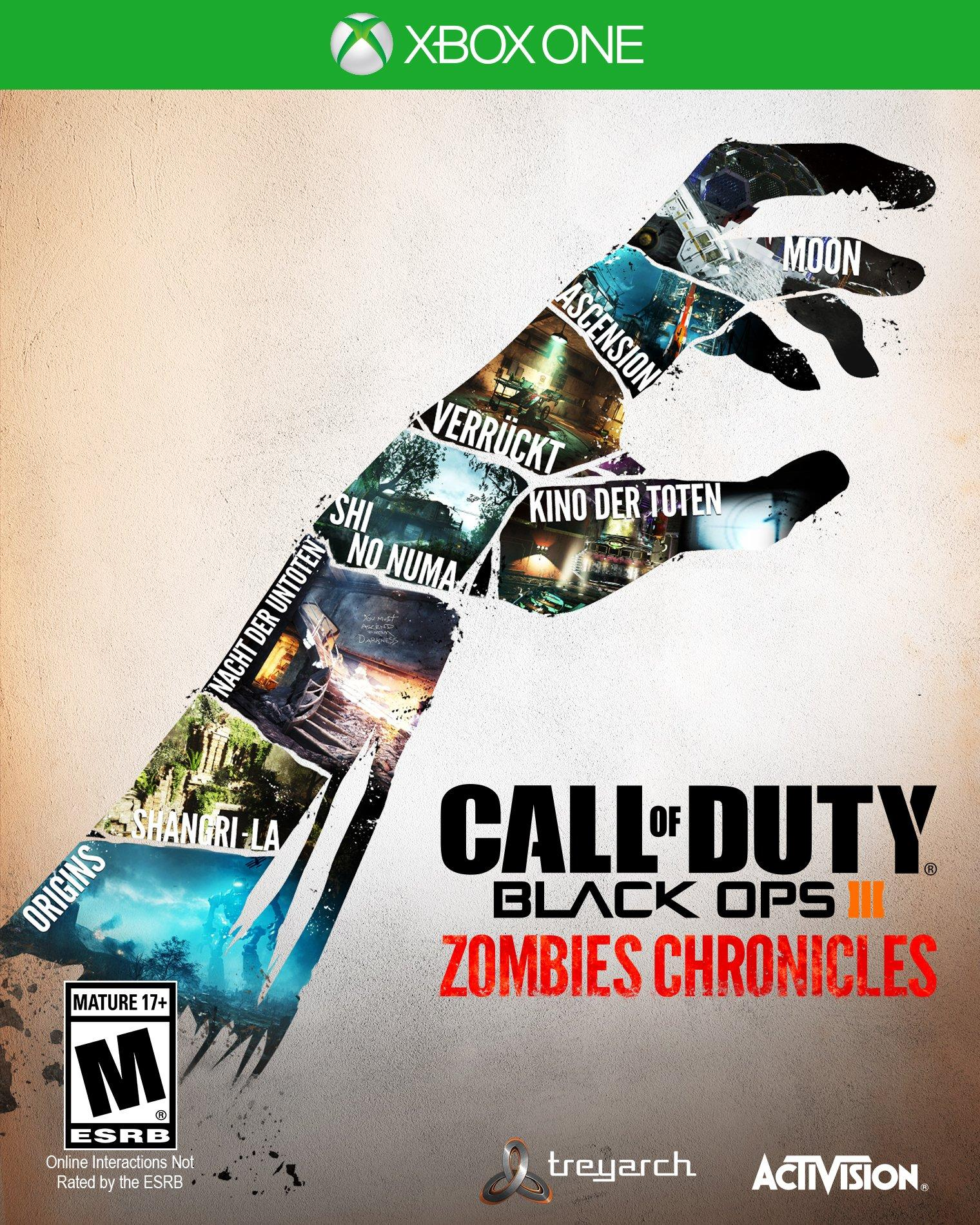 Call Of Duty Black Ops Iii Zombies Chronicles Xbox One Gamestop