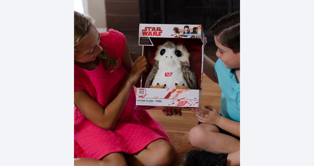 Star Wars Episode VIII: The Last Jedi Porg Action Plush
