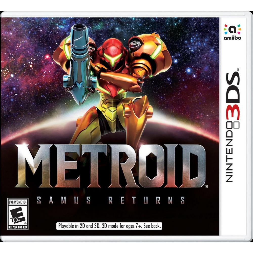 Metroid Samus returns game box Best Nintendo 3DS Games