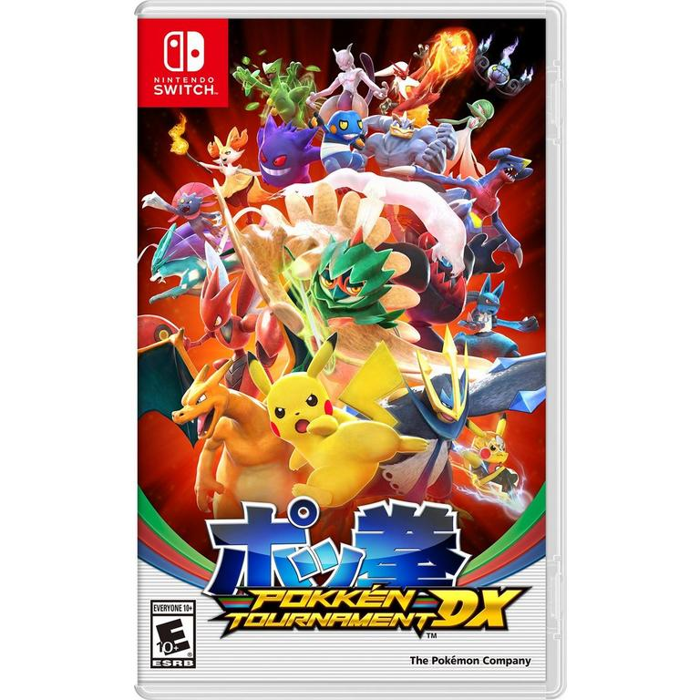 Nintendo of America Digital Pokken Tournament DX Nintendo Switch Download Now At GameStop.com!