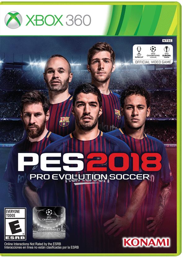 PES 2018: Pro Evolution Soccer   Xbox 360   GameStop
