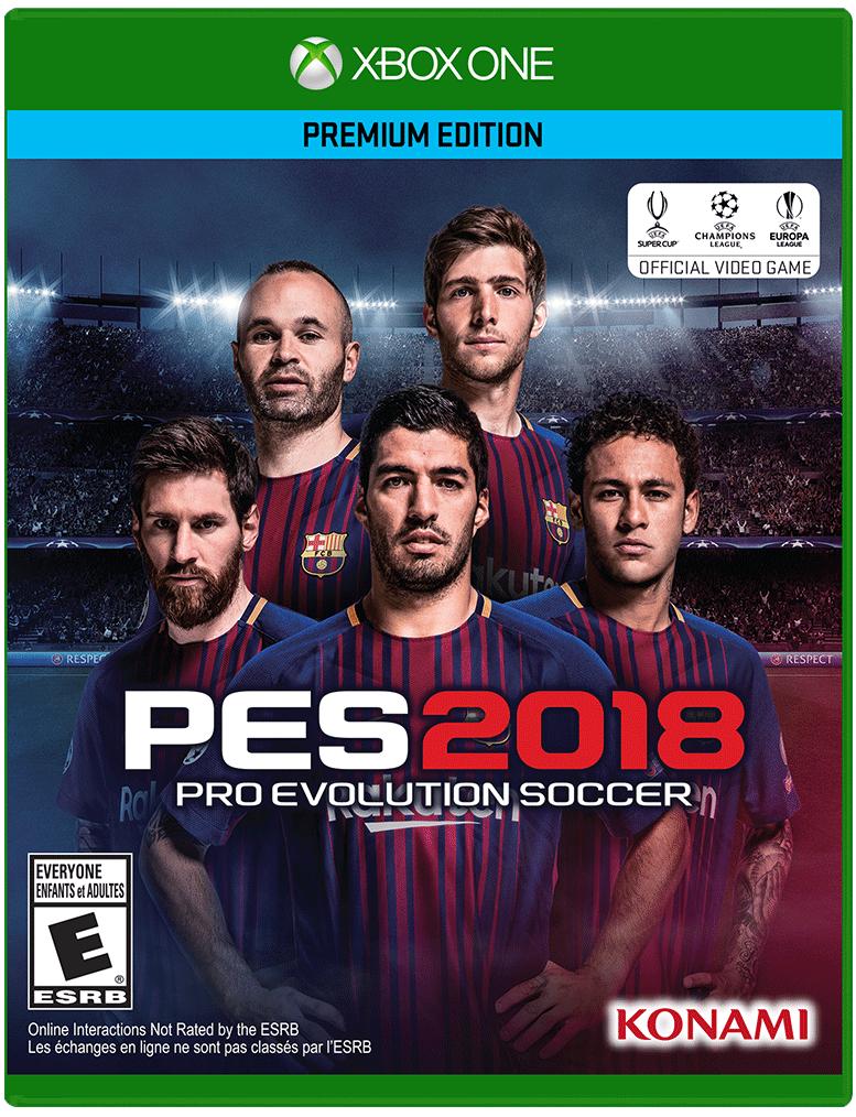 PES 2018: Pro Evolution Soccer   Xbox One   GameStop