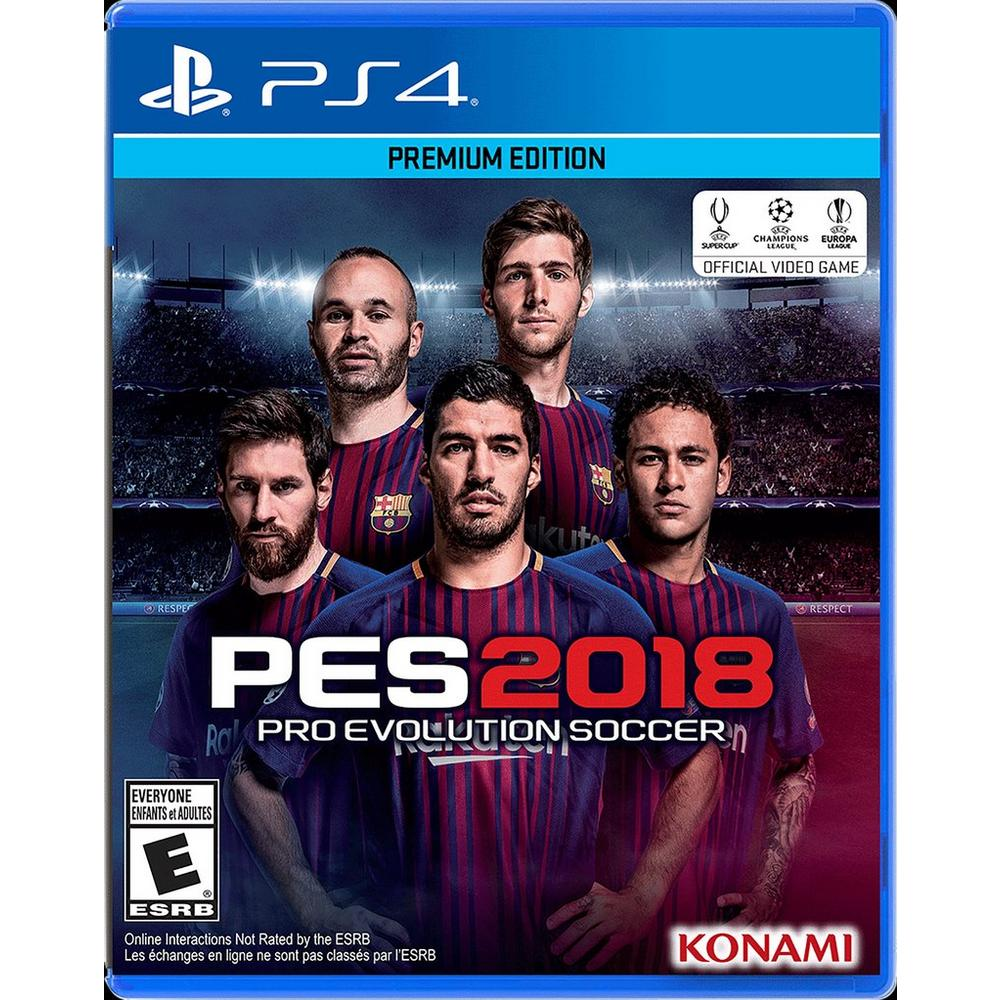 PES 2018: Pro Evolution Soccer | PlayStation 4 | GameStop