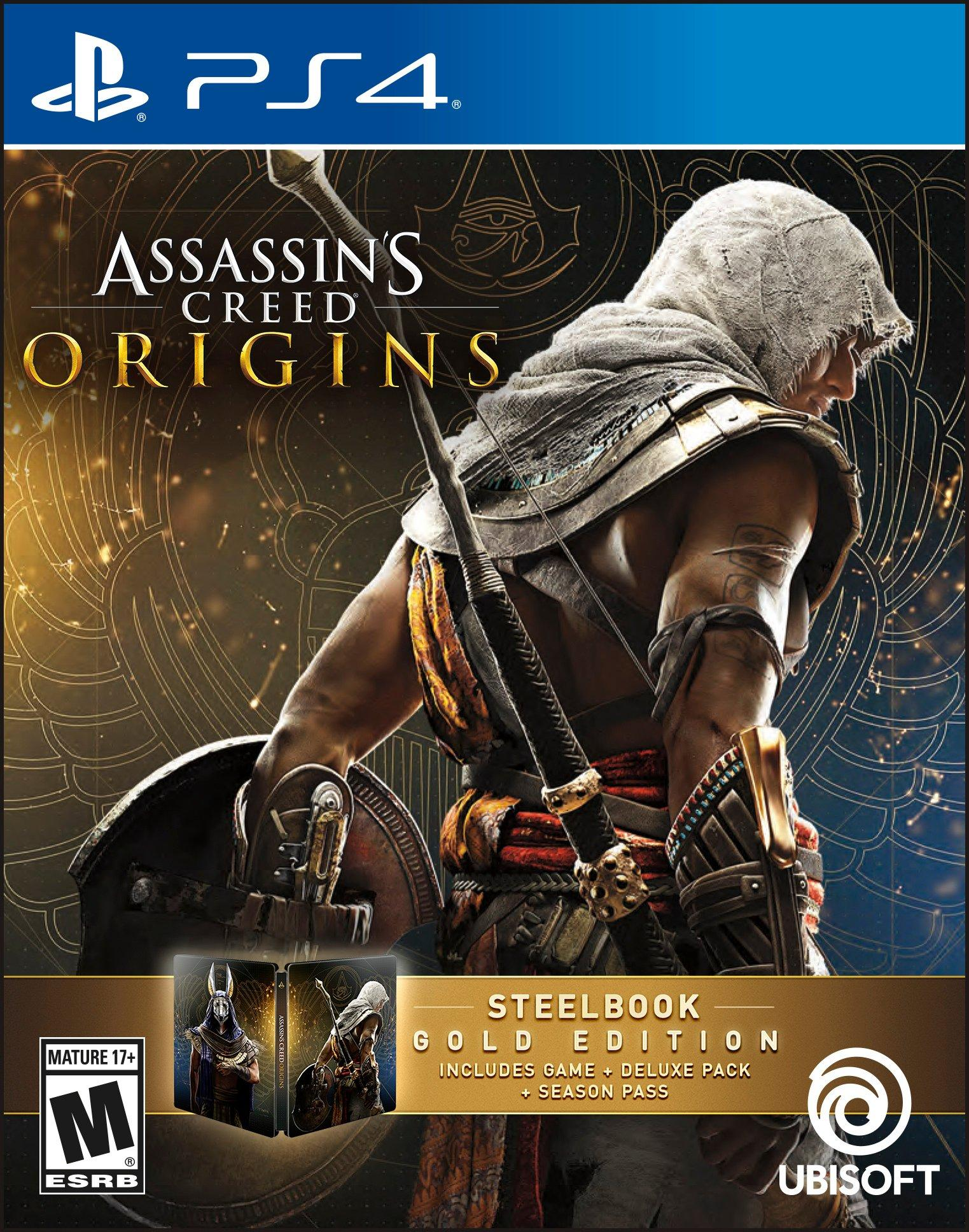 Assassin S Creed Origins Gold Edition Playstation 4 Gamestop