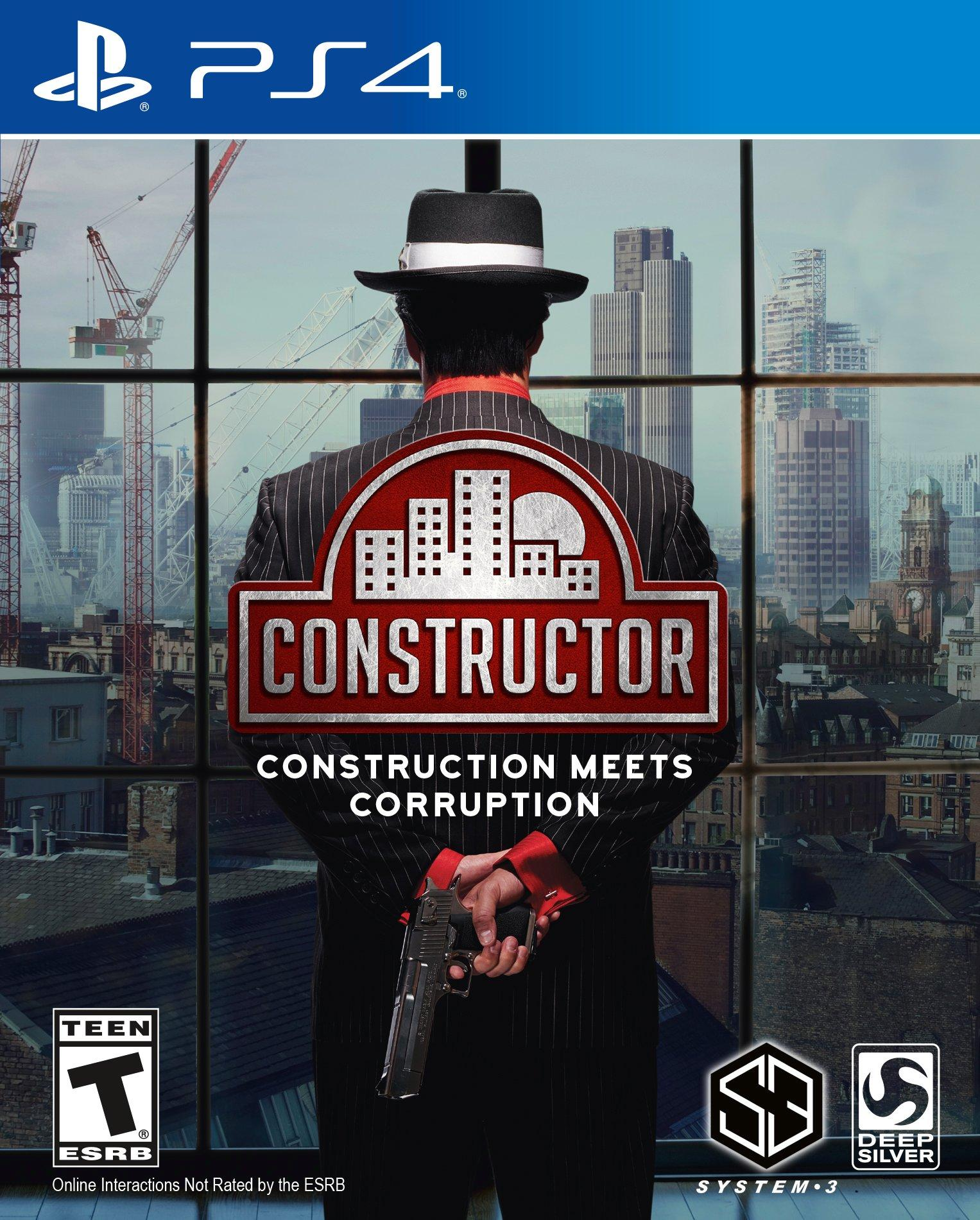 Constructor - Only at GameStop   PlayStation 4   GameStop